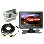 "REAR VIEW SYSTEM WITH 7"" MONITOR & DOUBLE SONY LCD CAMERA"